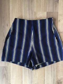 Stripe shorts Sportsgirl