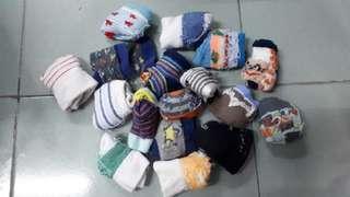Baby socks bundle 17 pcs (0 to 12 months)