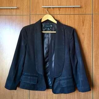 Forever 21 Black Blazer (M)