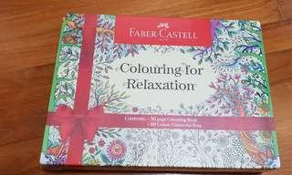 Faber Castell Colouring for Relaxation