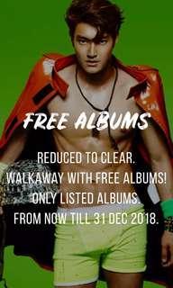 FREE Korean Albums