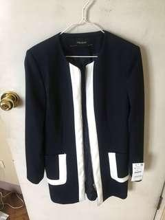 Zara Navy Blue Coat