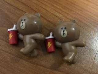 茶湯會Line熊大公仔一隻