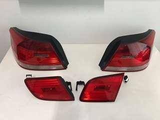 BMW E93 Rear Tail Lights Original Set Pre LCI