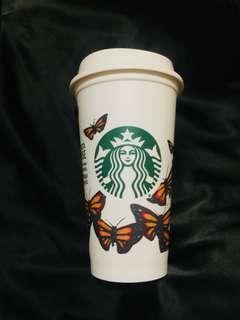 Starbucks Reusable Cup Tumbler (Monarch)