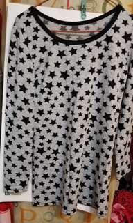 星星長䄂上衣