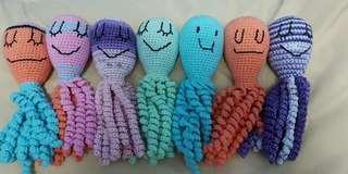 Crochet Octupus Plushies
