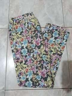 Bossini Floral Stretch Pants
