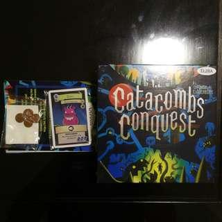 Catacombs Conquest KS Edition Board Game