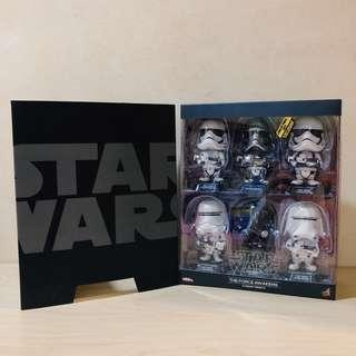 Cosbaby Star Wars The Force Awakens series 2 set of 6