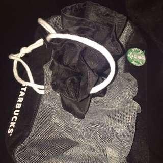 Starbucks Netstring Gift Bag