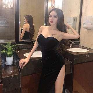 Glamorous Sexy Prom Black Dress