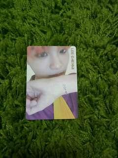 [WTS] wanna one daehwi IPU day version official pc