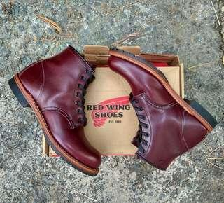 redwing red wings boots beckman 9011