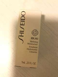 Shiseido refining moisturiser