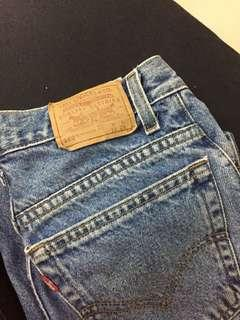 Levis Student relaxed fit student size W L 28
