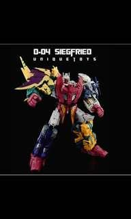 Unique Toys Ordin (Transformers Abominus Prime Combiners Devastator)