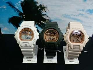 """GMD-S6900MC-3, GMD-S6900MC-4, GMD-S6900MC-7卡西歐品牌手錶""""Casio""""""""G-Shock""""日本機芯一年保養"""