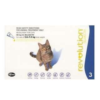 Revolution Cat 3 dose