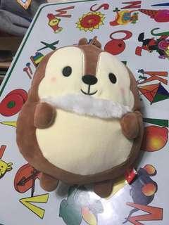 日本直送 Disney Chip 'n' Dale 奇奇與蒂蒂 鋼牙與大鼻 鋼牙斜孭袋