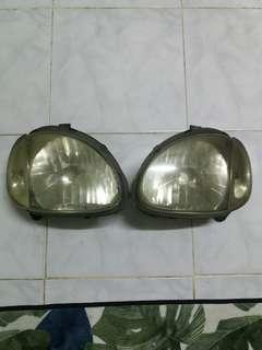 Lampu Headlamp Kelisa Original