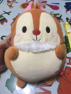 日本直送  Disney Chip 'n' Dale  奇奇與蒂蒂  鋼牙與大鼻  大鼻斜孭袋