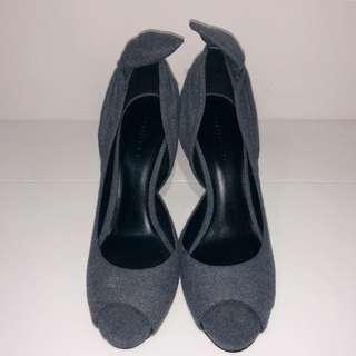 Charles & Keith D' Orsay Peep Toe Heels