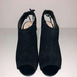 Charles & Keith Peep Toe Heels