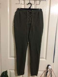 Khaki Trackpants