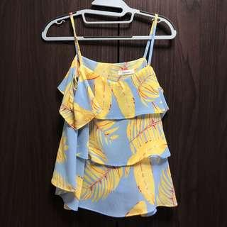 Matinee tropical two way top one size