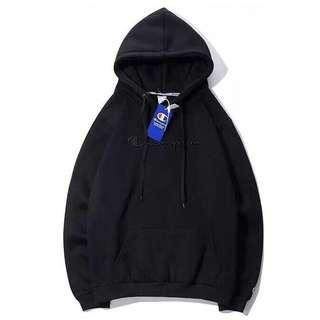 [PO] Champion Embroidered Hoodie Pullover