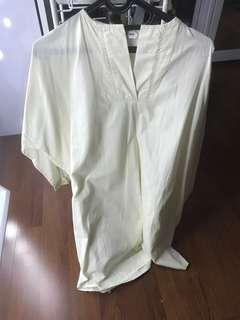 Cotton ink dress & Top