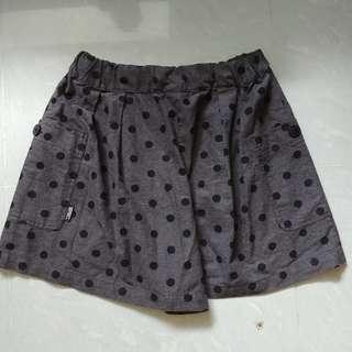 :CHOCOOLATE 灰色波點短褲