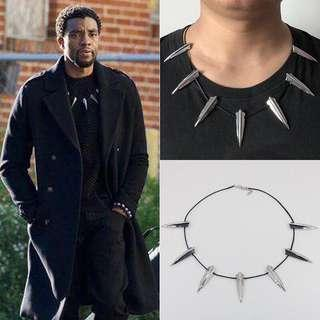 Kalung Black Panther T'Challa Necklace Cosplay Kostum Halloween Murah