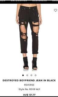 REVERSE Destroyed Jeans