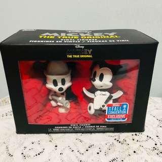 Mickey The True Original vinyl figures