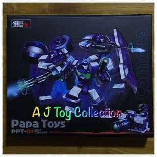 [ In Stock ] Transformers Papa Toys PP01 Camera Reflector