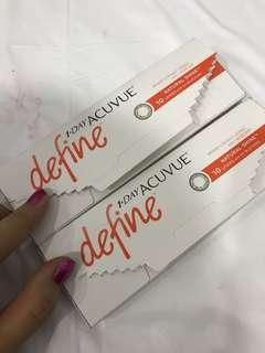 Acuvue Contact Lens Natural Shine