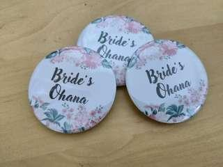 CHEAPEST WEDDING badge pin
