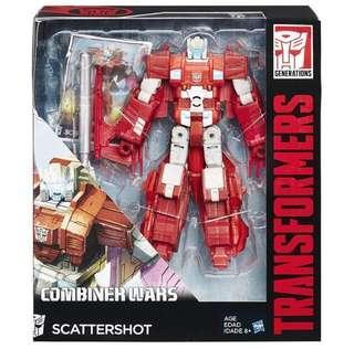 Scattershot Transformers Combiner Wars