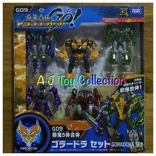 [ In Stock ] Transformers GO 09 Goradora Set