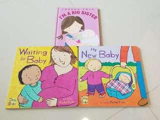 New baby/ big sister books