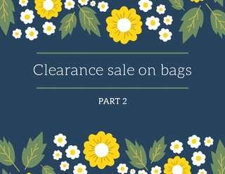 📢Clearance sale on bags part 2‼️