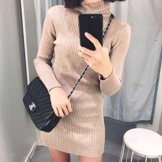 包臀連身裙(黑)