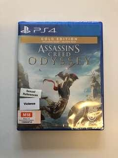 WTS- Assassin Creed Odyssey Gold Edition PS4