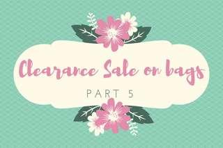 📢Clearance sale on bags part 5‼️