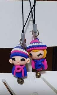 Couple Phone Ring Deco Toy
