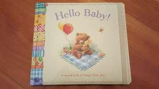 全新 Hello Baby 初生嬰兒紀錄冊 Record Book of Baby's First Year