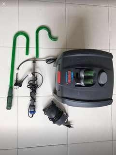 Fish Pump - Eheim external filter, Eheim heater and air pump
