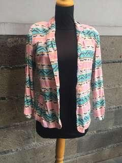 Blazer motif tribal